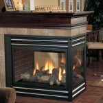 Regency Panorama P131 Three Sided Gas Fireplace