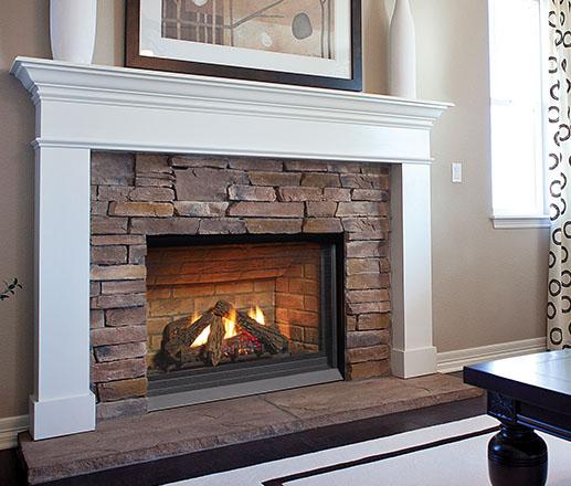 Regency Panorama P33E Small Gas Fireplace - Fireplace