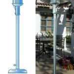 Sunglo Freestanding Heater - Outdoor Heater