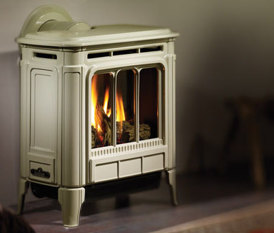 Hampton H27 Medium Gas Stove - Fireplace