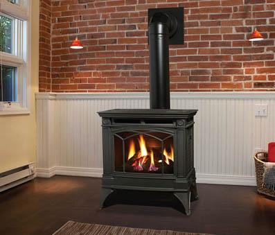 Hampton H35 Large Gas Stove - Fireplace