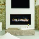 Stellar Hearth CML-58 Contemporary Gas Fireplace - Fireplace