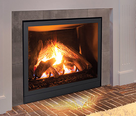 Enviro Q2 Medium Gas Fireplace Insert Kirkland Heating