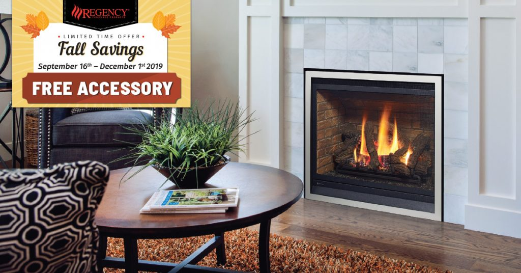 Regency Fireplaces Fall Promotions